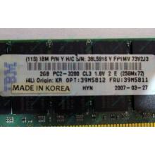 IBM 39M5811 39M5812 2Gb (2048Mb) DDR2 ECC Reg memory (Ивановское)
